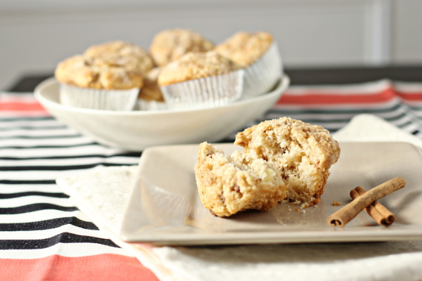 Apple Cinnamon Chip Muffins