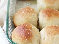 Soft and fluffy honey yeast rolls! Filled with just the right amount of buttery, honey flavor! Freezer-friendly and a perfect side to any meal!