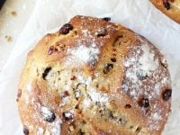 Homemade cranberry walnut bread! Make this store-bought holiday staple at home! Sturdy, soft and chewy, it makes for the best toast! And it's freezer-friendly!