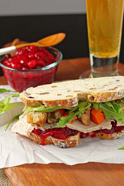 "Thanksgiving ""Gobbler"" Sandwich"