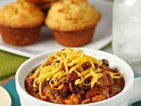 Sausage and beef chili