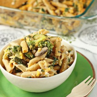 Vegetable Filled Macaroni and Cheese