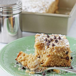 Chocolate Chip Buttermilk Cake