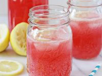 Sparkling Raspberry Lemonade | Cookie Monster Cooking