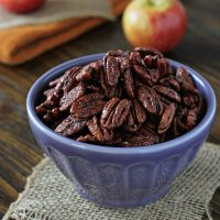 Apple Pie Spiced Pecans