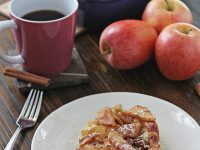 Overnight Baked Apple Cinnamon French Toast | Cookie Monster Cooking