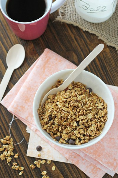 Pumpkin Spice Latte Granola | Cookie Monster Cooking