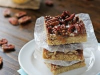Salted Pecan Pie Cookie Bars | Cookie Monster Cooking
