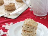 Eggnog Biscuits | Cookie Monster Cooking