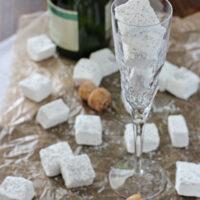 Homemade Champagne Marshmallows