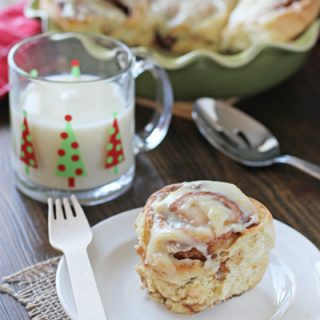 Quicker Orange Cinnamon Rolls
