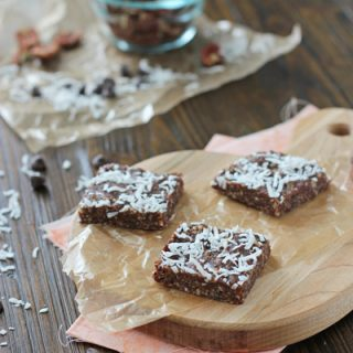 Brownie Snack Bars (No Bake)