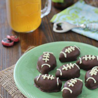 Oreo Football Truffles