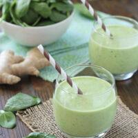 Vanilla Mango Spinach Smoothie