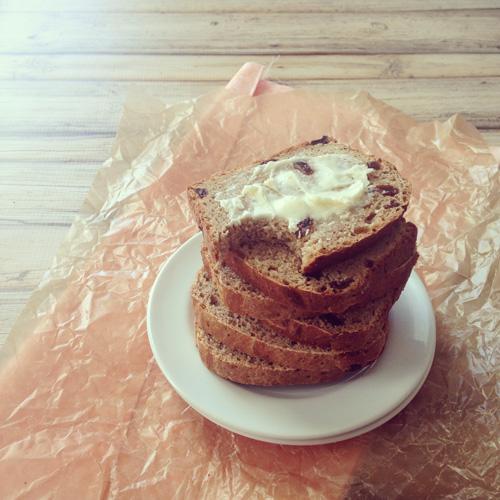 Cinnamon Raisin Bread | cookiemonstercooking.com