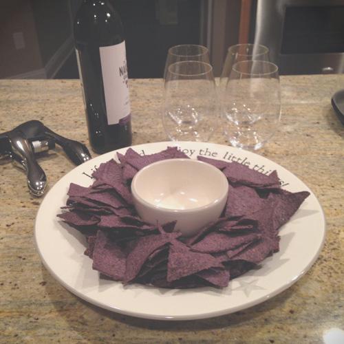 Wine and Snacks | cookiemonstercooking.com