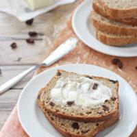 Quicker Cinnamon Raisin Bread
