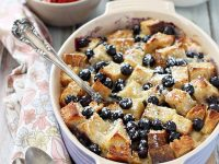 Berries and Brie Breakfast Bake | cookiemonstercooking.com