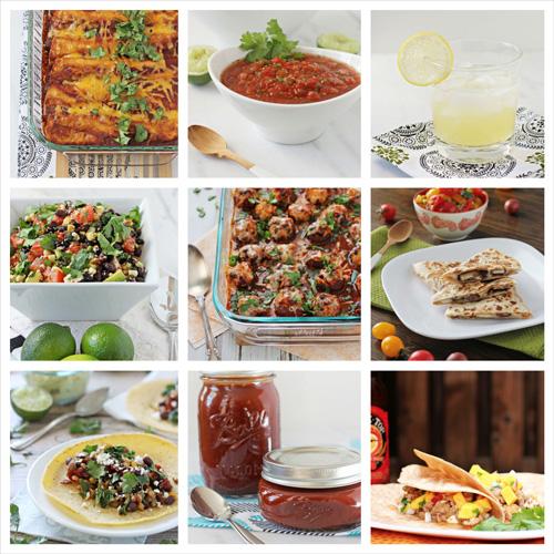Cinco de Mayo Recipe Round-Up | cookiemonstercooking.com