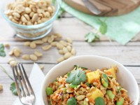 Thai Barley Salad | cookiemonstercooking.com