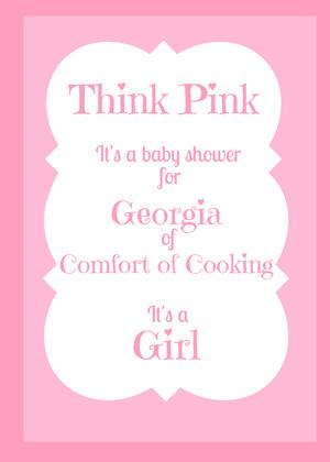 Think Pink Baby Shower