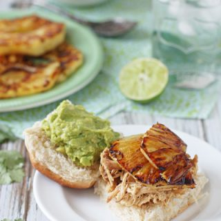 Crockpot Pineapple Chicken Sandwiches | cookiemonstercooking.com