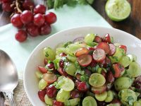 Grape Salsa | cookiemonstercooking.com