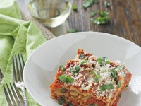 Crockpot Summer Vegetable Lasagna