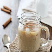 Honey Cinnamon Iced Latte