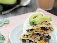 Make-Ahead Veggie Breakfast Quesadillas