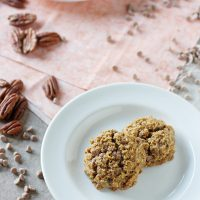 Cinnamon Chip Pumpkin Pecan Cookies