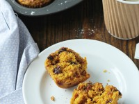 Cinnamon Chocolate Chip Pumpkin Muffins | cookiemonstercooking.com