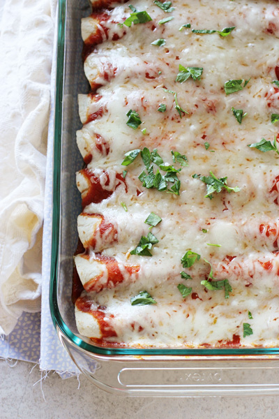 Leftover Turkey and Cranberry Enchiladas | cookiemonstercooking.com
