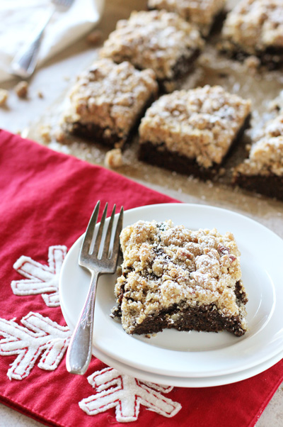 Gingerbread Crumb Cake | cookiemonstercooking.com