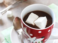 Slow Cooker Gingerbread Hot Chocolate | cookiemonstercooking.com