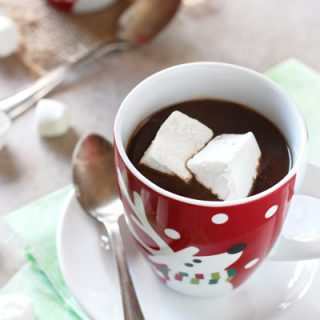 Slow Cooker Gingerbread Hot Chocolate