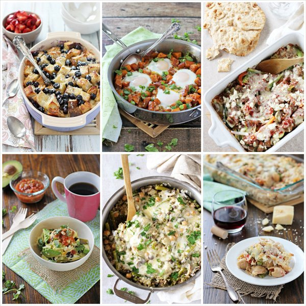 30 Brunch Recipes to Make This Spring | A collection of various recipes perfect for any Spring gathering!