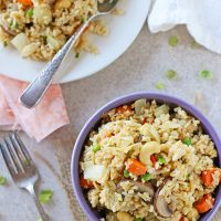 Our Favorite Vegetable Fried Rice