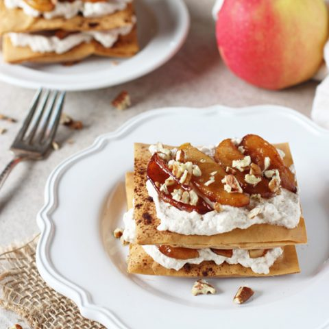 Apple Cinnamon Phyllo Pastries