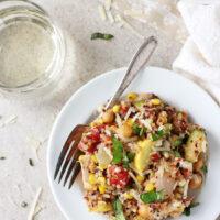 Summer Squash and Corn Quinoa