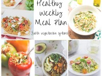 Healthy Weekly Meal Plan 9.12.15