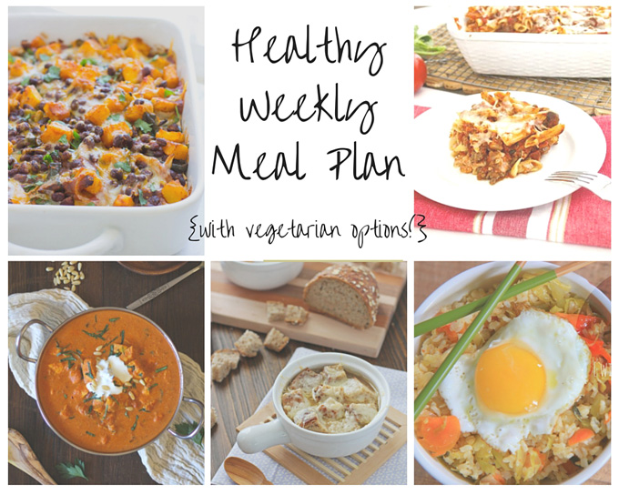 healthy weekly meal plan 11 7 15 cook nourish bliss