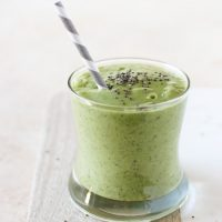 Detox Green Smoothie with Avocado