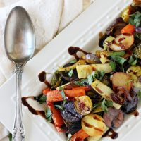 Honey Balsamic Roasted Vegetables