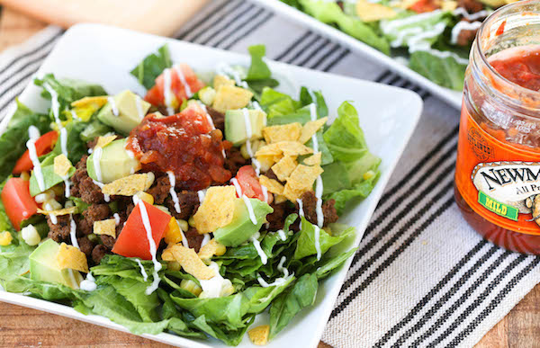Quick and Easy Taco Salads