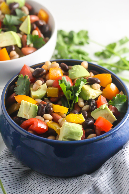Healthy Mexican Bean Salad