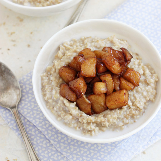 Apple Ginger Steel-Cut Oatmeal