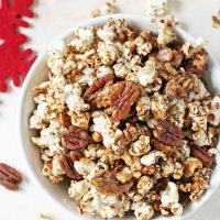 Sweet & Spicy Popcorn Nut Party Mix