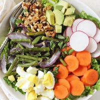 Spring Vegetable Cobb Salad