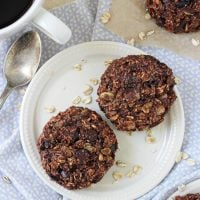Chocolate Cherry Almond Breakfast Cookies